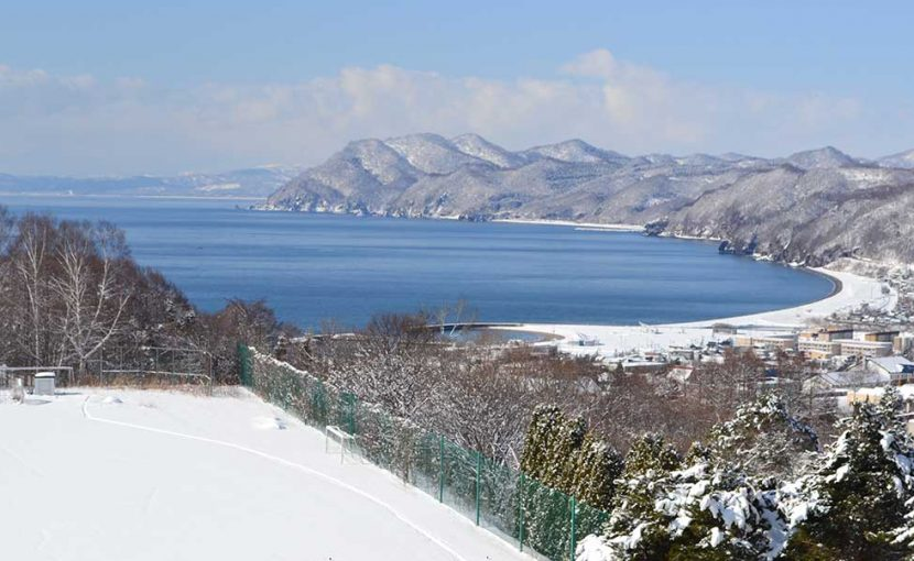 豊浦冬景色