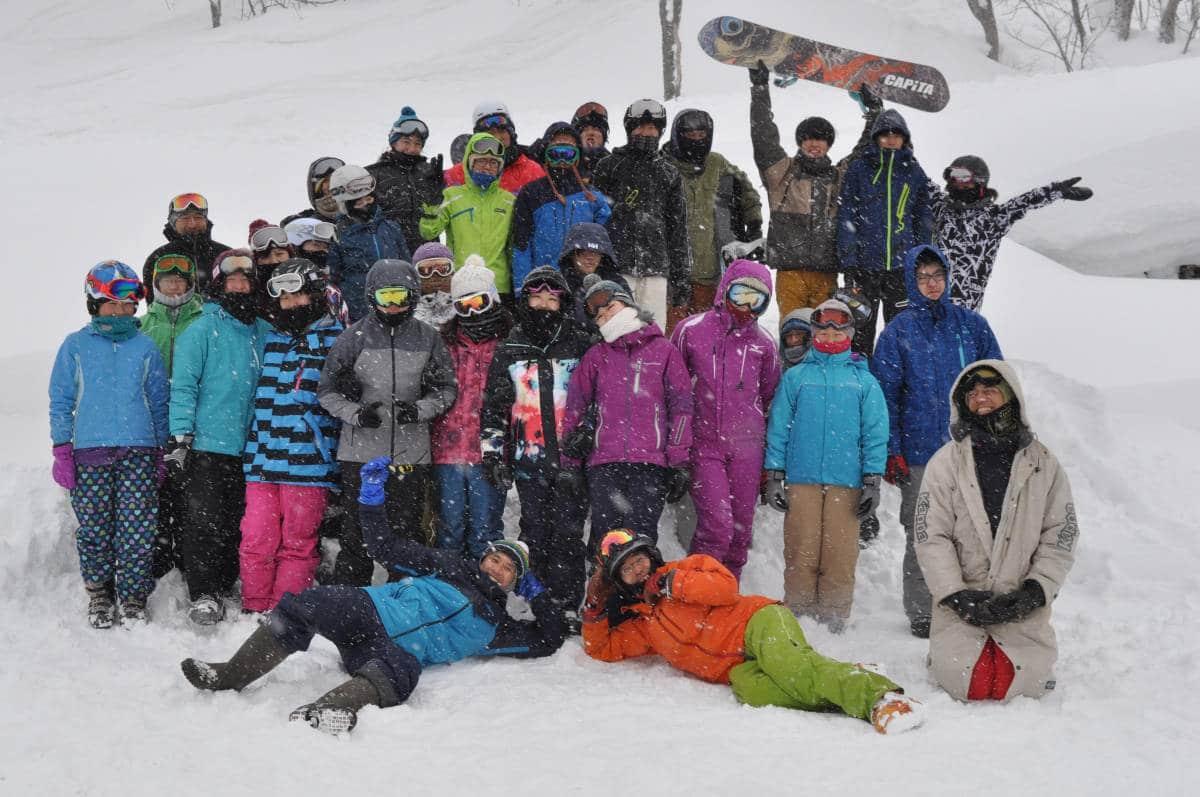 スキー合宿2019の様子