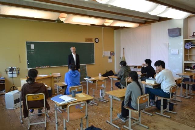 高等部理科の授業
