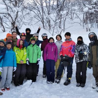 高等部スキー合宿