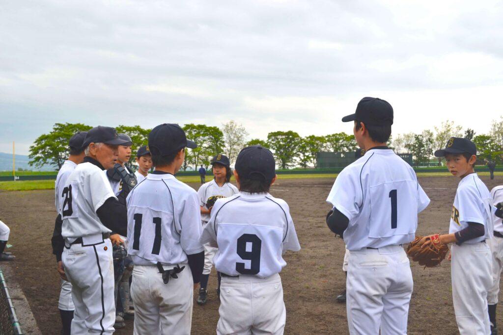 野球部 試合